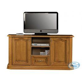 TV stolek typ B se zásuvkou Kinga masiv - PYKA Stolky pod TV