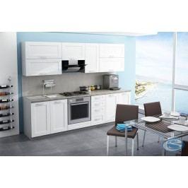 Kuchyňská linka Wenus 09 260 cm bílá - FALCO