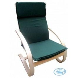Relaxační křeslo houpací Aly R03  tmavě zelená - FALCO