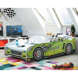 Dětská postel auto Cars 160x80 - BM