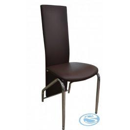 Jídelní židle H-66 hnědá - FALCO