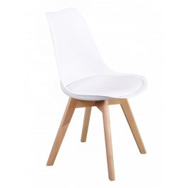 Jídelní židle PP-26 bílá - FALCO Židle do kuchyně