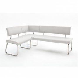 Rohová lavice Vesata typ 1 bílá levá - TempoKondela
