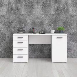 Bílý psací stůl Function Plus 80121 - TVI