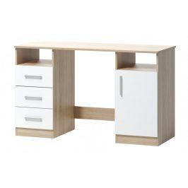 Psací stůl Arta 16 dub sonoma/bílá - FALCO