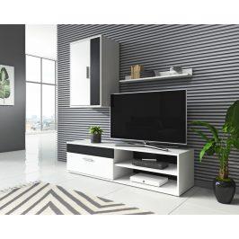 Obývací stěna Tok 2 bílá/černá - FALCO