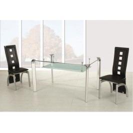 Jídelní stůl A162 stříbrný - FALCO
