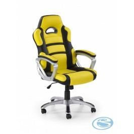Kancelářské křeslo Hornet žlutá/černá - HALMAR