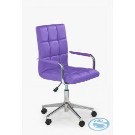 Halmar Židle Gonzo 2 fialová - HALMAR