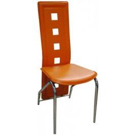Jídelní židle H-66 oranžová - FALCO