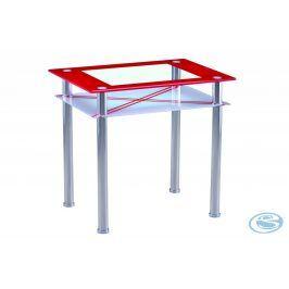 Jídelní stůl B66 60x80 červená - FALCO