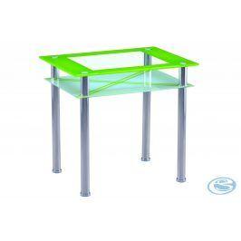 Jídelní stůl B66 60x80 zelená - FALCO