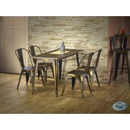 Jídelní stůl Magnum měděný - HALMAR