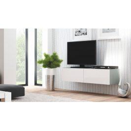 TV stolek Livo RTV-160W bílý - HALMAR Stolky pod TV