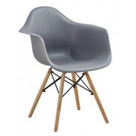 Jídelní židle Indiana šedá - FALCO