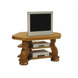 TV stolek Cezar - masiv - PYKA