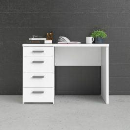 Bílý psací stůl Function Plus 80120 - TVI