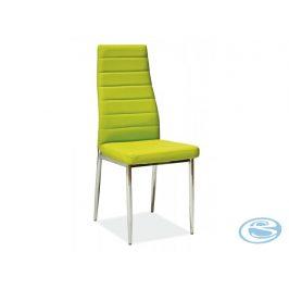 Jídelní židle H-261 zelená - FALCO