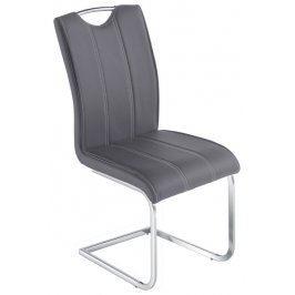Elza, šedá ekokůže Židle do kuchyně