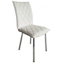 Irina, bílá ekokůže Židle do kuchyně