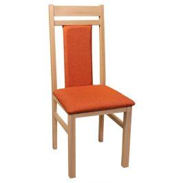 Michaela, dub/oranžová Židle do kuchyně