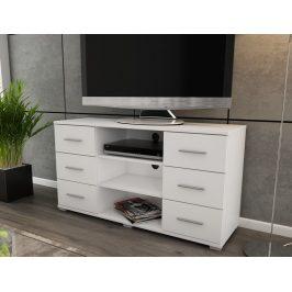 Oskar TV, bílý, výška 65 cm