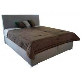 Monte 180x200 cm, béžová tkanina/deka/polštáře