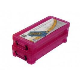 Skladovací box 17,5x8x3,5cm - sada 2 kusy 8711252155432