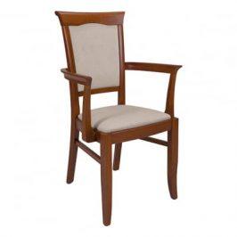 Židle Kent s područkami EKRS P Black Red White