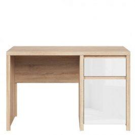 Psací stůl Kaspian KA_BIU1D1S/120 Black Red White