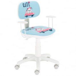 Židle otočná Bambino MT-NSTYL/KRZ-OBR-BAMBINO Black Red White
