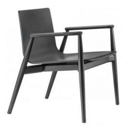 Pedrali Černá jasanová židle MALMÖ 295