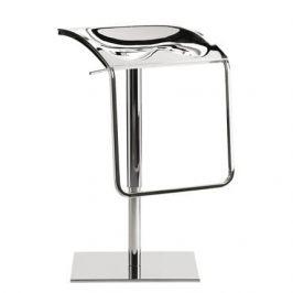 Pedrali Stříbrná kovová barová židle Arod 570