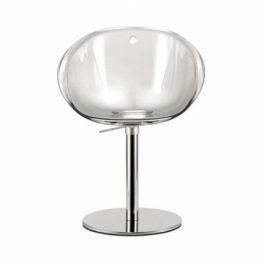 Pedrali Červená plastová otočná židle Gliss 951