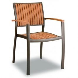 Garden Project Designová zahradní židle Clar, teakové dřevo