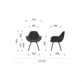 Profim Konferenční židle FAN 10HW