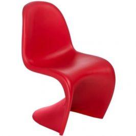 Culty Jídelní židle Pantom, červená Židle do kuchyně