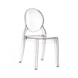 Culty Designová židle Ghost II., transparentní