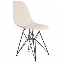 Culty Béžová plastová židle DSR
