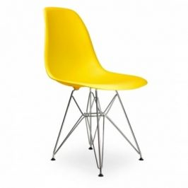 Culty Žlutá plastová židle DSR Židle do kuchyně