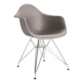 Culty Cappuccinová plastová židle DAR