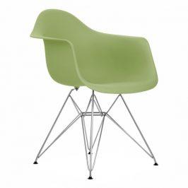 Culty Zelená plastová židle DAR