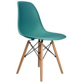 Culty Plastová židle DSW v provedení ocean Židle do kuchyně
