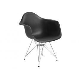 Culty Černá plastová židle DAR Židle do kuchyně
