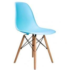 Culty Plastová židle DSW v provedení sky blue Židle do kuchyně