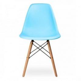 Culty Plastová židle DSW v provedení sky blue