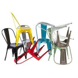 Culty Jídelní židle Tolix 45, bílá