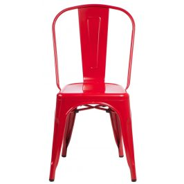 Culty Jídelní židle Tolix 45, červená