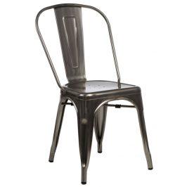 Culty Jídelní židle Tolix 45, metalická Židle do kuchyně