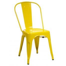 Culty Jídelní židle Tolix 45, žlutá Židle do kuchyně